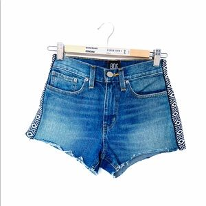 BDG Denim Shorts Jean With Strips On Side